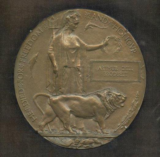 Memorial Plaque - The Great War 1914-1918