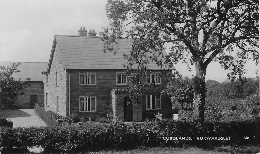 'Curdlands' at Burwardsley where Violet spent much of her childhood