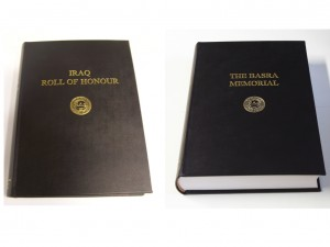 In view of the political instablity in Iraq, a 2 volume 'Roll of Honour' has been created by the Commonwealth War Graves Commission